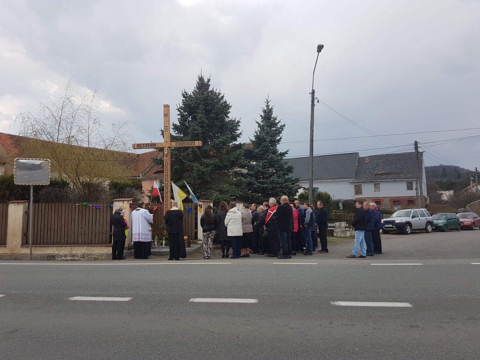 Poświęcenie Krzyża W Siodłkowicach