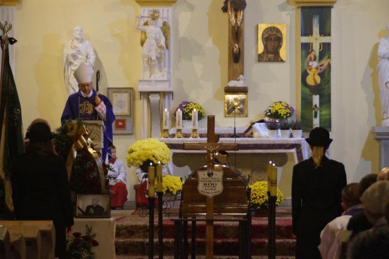 Eksporta I Msza św. żałobna Za śp. Ks. Prałata Wenancjusza Roga